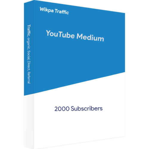 Blue YouTube Mini 2000