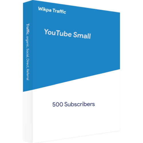 Blue YouTube Mini 500
