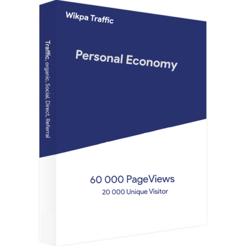 Website Traffic Personal Economy