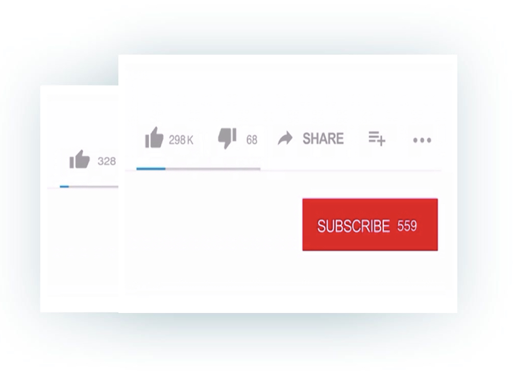 YouTube View Like Subscribers